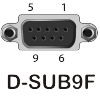 Распайка контактов разъема RS232