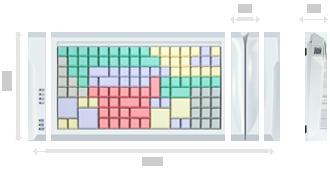 Программируемая клавиатура LPOS PC-128