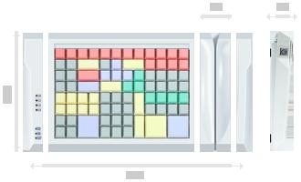 Программируемая клавиатура LPOS PC-96
