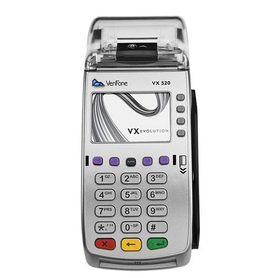 Verifone vx520g инструкция