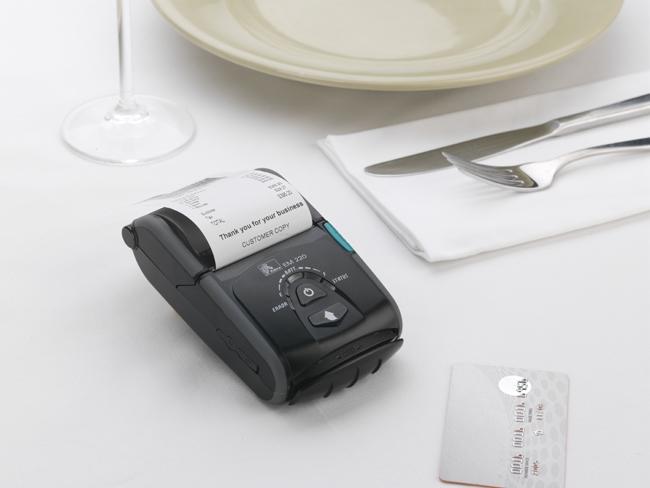 Imprimante codes barres mobile zebra em220ii